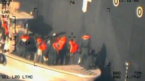 US releases new images from suspected attacks on Gulf tankers