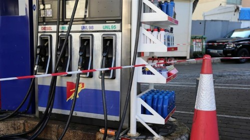 Lebanese petrol stations shudder to a halt amid nationwide strike