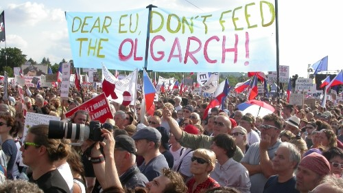 'We've had enough': Huge crowds in Prague demand PM Babis quits