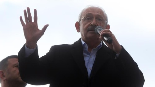 Arrests after attack on main opposition leader in Turkey