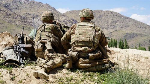 Afghanistan: US military says two service members killed