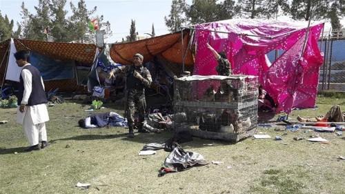 Taliban claim twin blasts that kill four at Afghan stadium