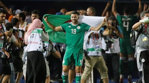 Algeria charter planes to carry fans for African Cup semi-final