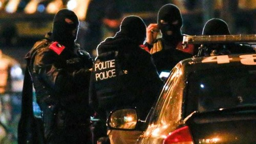 Belgium arrests 16 in late-night security raids