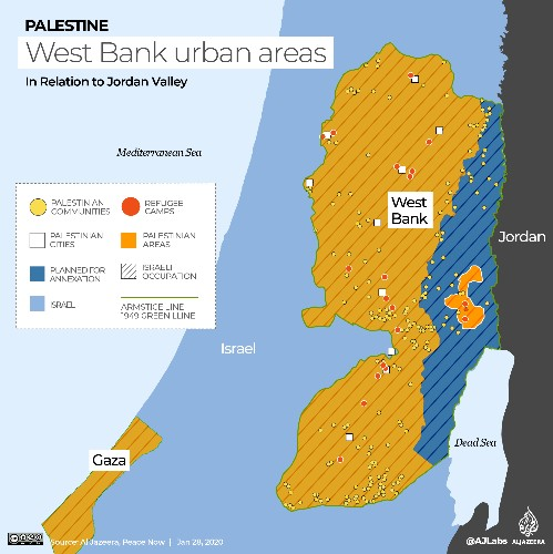 'A new Balfour': Palestinians angered by Trump's Middle East plan