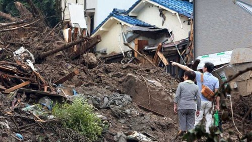 Death toll in Japan landslides mounts