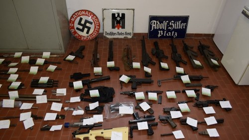 Italy seizes missile, guns in raids on neo-Nazis