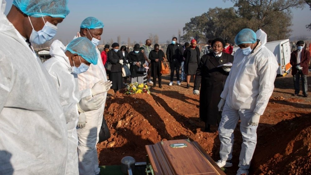 South Africa's coronavirus cases hit more than half a million