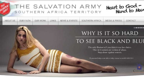 Domestic violence advert stirs up storm in South Africa