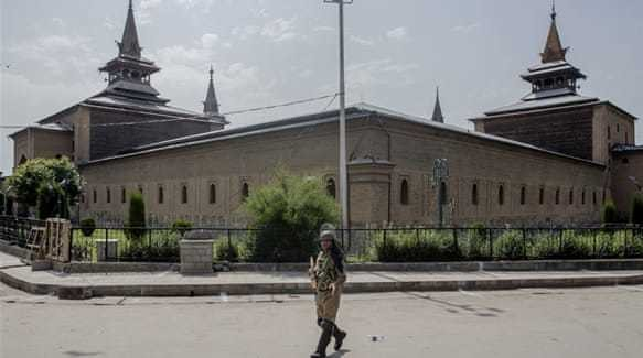 No Friday prayers in over 4 months in Kashmir's largest mosque
