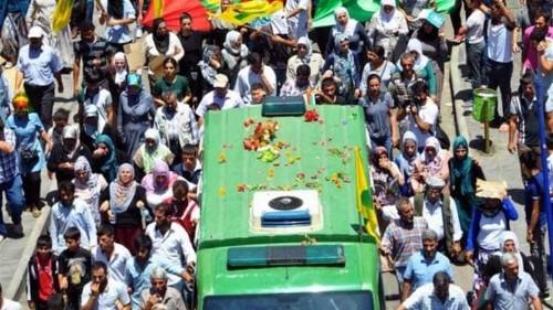 Kurdish mourners blast Turkish government