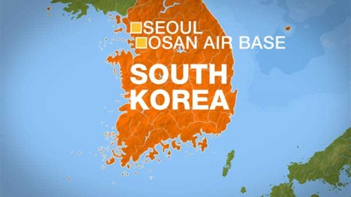 Lockdown lifted at US base in South Korea