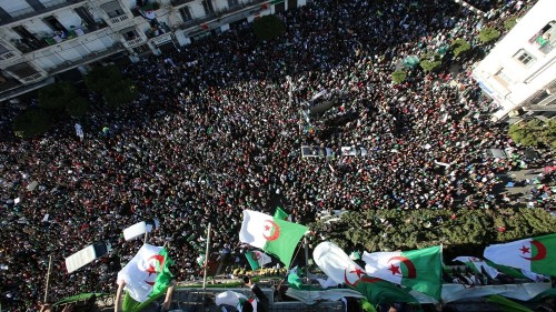Algeria presses ahead with election amid protests