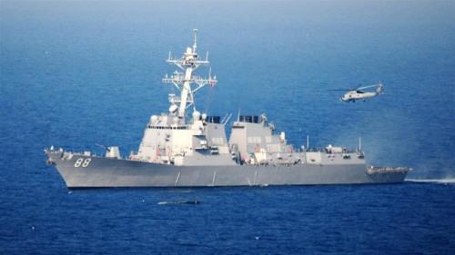 US says warship sails in South China Sea amid trade tensions