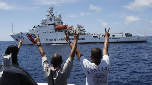 Philippines sues China over sea claims