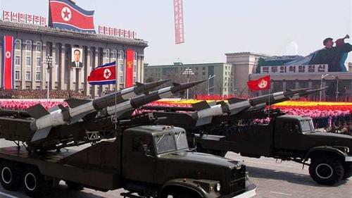 North Korea fires rockets into sea