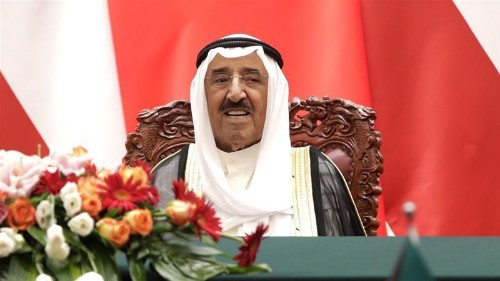 Kuwait says emir in good health after recovering from 'setback'
