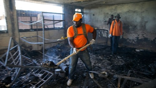 Haiti orphanage fire: 15 children dead, health workers say