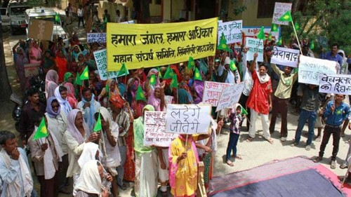 Indians mobilise to save ancient forests