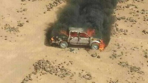 Jordan: Combat vehicles from Syria destroyed