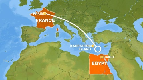 EgyptAir MS804: Pilots tried to put out a fire