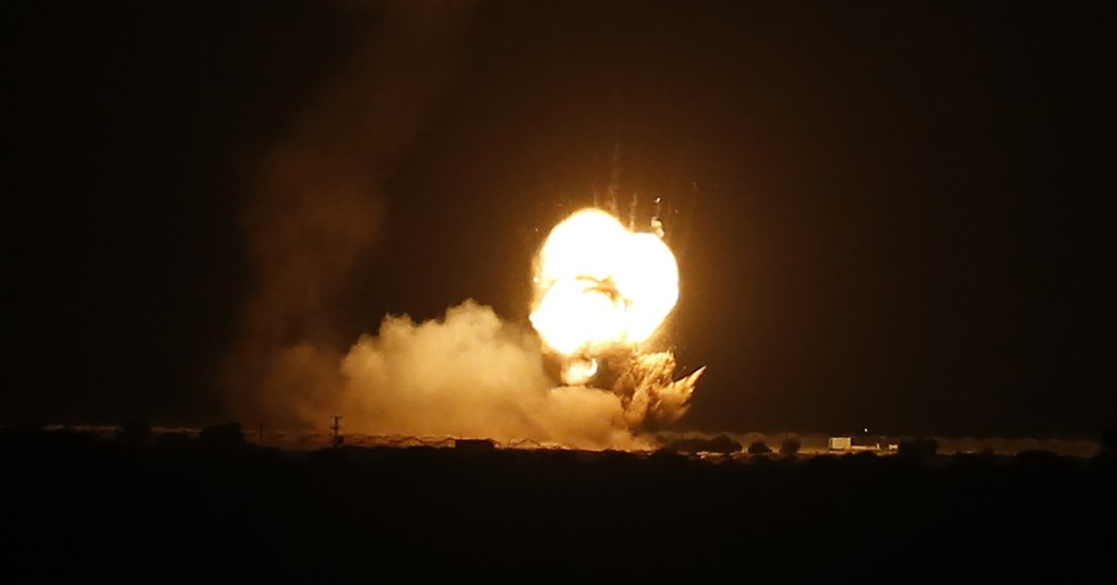 Israeli army launches air raids on besieged Gaza Strip