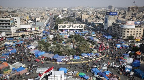 Iraq's security forces kill at least two protesters in Baghdad