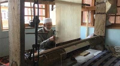 The rise of the machines: Kashmir's weavers fear for their future