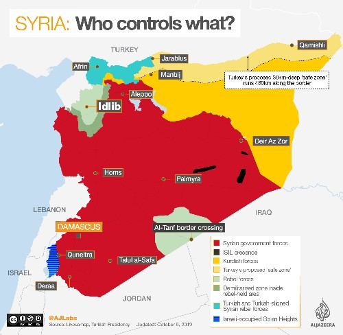 How long will Turkey remain in northeast Syria?
