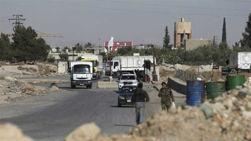Syria 'approves' aid access to seven besieged areas