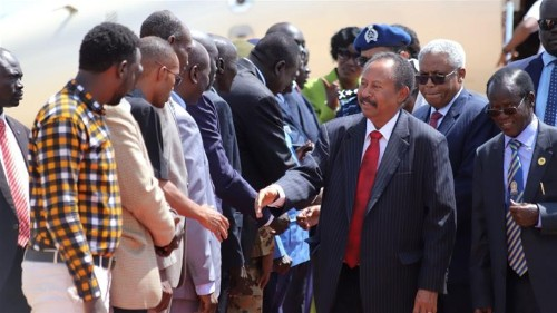 Talks under way between Sudan transitional government and rebels