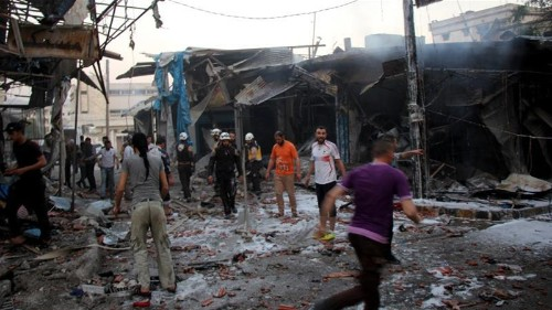 Russian air raids kill five children in northwest Syria