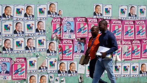 Tensions high as Mozambique votes in high-stakes elections