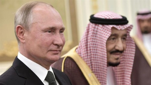 Putin visits Saudi Arabia in sign of growing ties