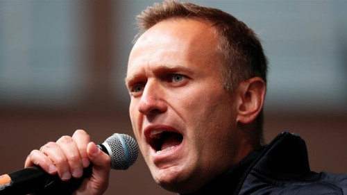 Mass raids target Russian opposition leader Navalny, allies