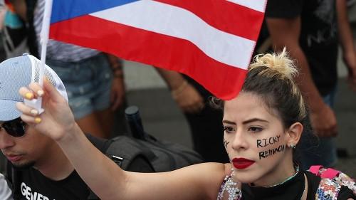 Hundreds of thousands demand Puerto Rico's governor resign