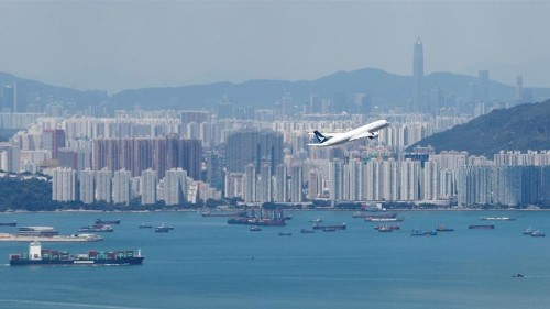 Airlines ask Hong Kong to waive airport fees as demand drops