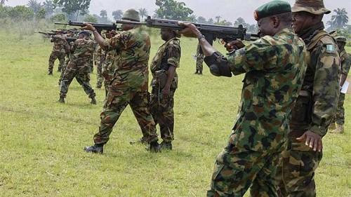 Nigerian forces target Boko Haram strongholds
