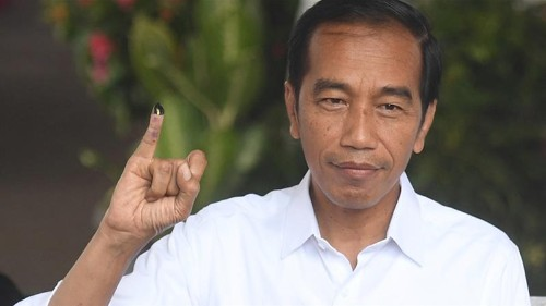 Indonesia's presidential rivals both declare election win