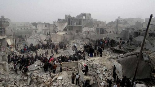 Syrian opposition groups say Assad must go