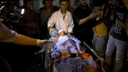 Israeli air strike hits northern Gaza