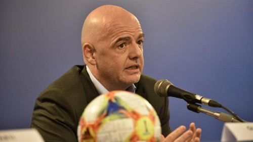 FIFA's Infantino: Racism in Italian football is 'very serious'