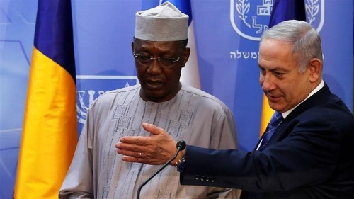 Chad opposition leaders decry Idriss Deby's Israel rapprochement