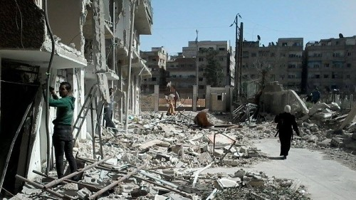 UN Security Council demands access to Syria's Yarmouk