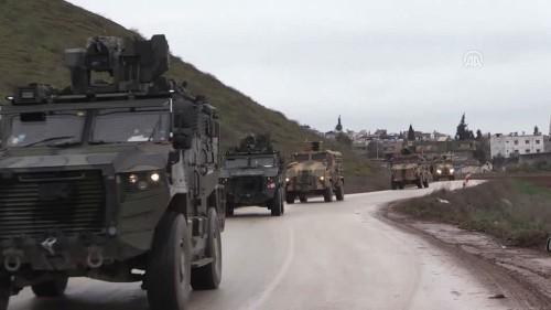 Turkey bolsters Idlib outposts as Syrian gov't forces make gains