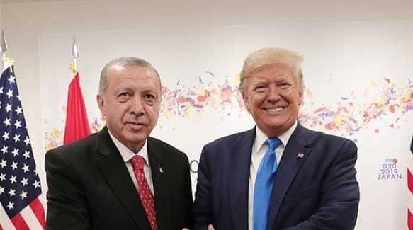 Congress and White House at odds as Erdogan and Trump set to meet