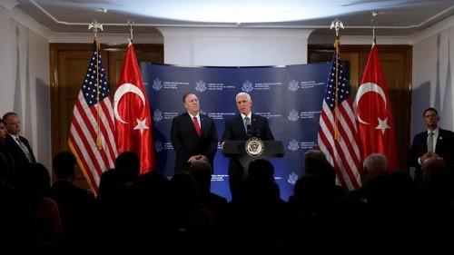 US, Turkey agree on Turkish ceasefire with Syrian Kurds