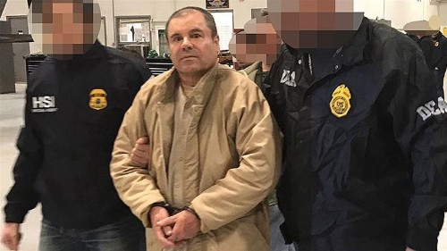 Mexican drug lord 'El Chapo' Guzman sentenced to life in prison