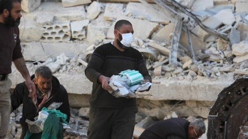 UN asks Russia for answers about bombed Syria hospitals