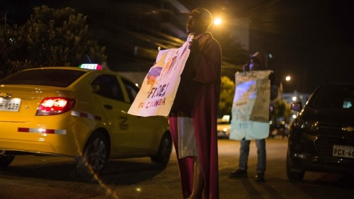 Ecuador: Colombia refugees stage weeks-long protest against UNHCR